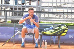 Marco Cecchinato (ITA), arresosi sul più bello dopo un ottimo torneo